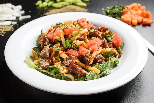Lean & Mean Cheeseburger Salad