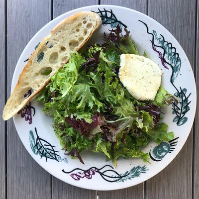Spring Greens & Goat Cheese Salad
