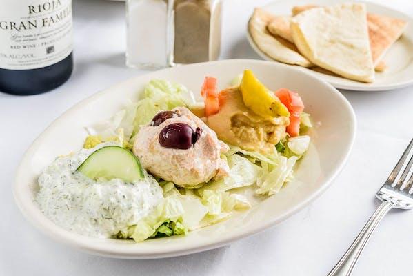 Mediterranean Dip Platter