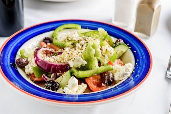 Horiatiki (Peasant Greek Salad)