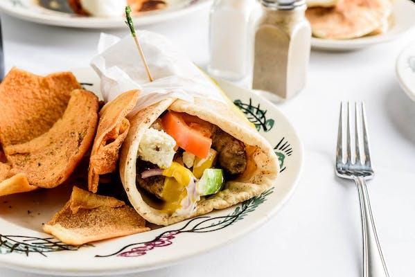 Grilled Chicken Feta Wrap
