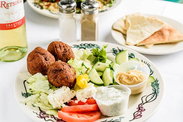 Falafel Nicosia or Falafel Plate