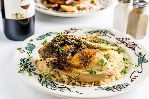 Greek Style Baked Chicken