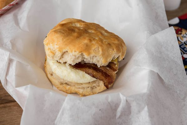 Meat & Egg Biscuit