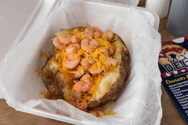 Shrimp Stuffed Potato