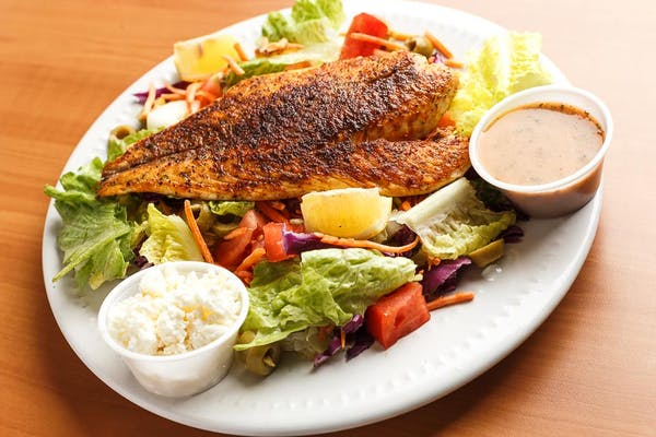Greek Redfish Salad