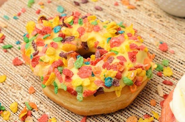 Fruity Pebble Donut