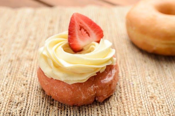 Strawberry Cheesecake Donut
