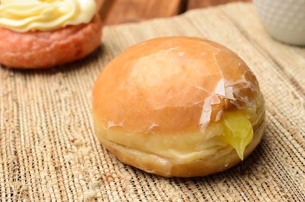 Lemon Filled Donut
