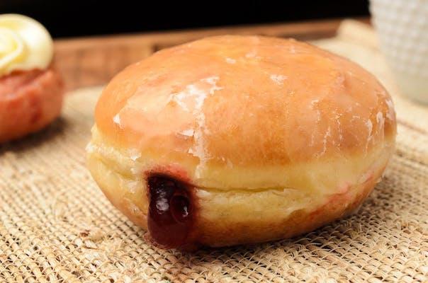 Raspberry Filled Donut