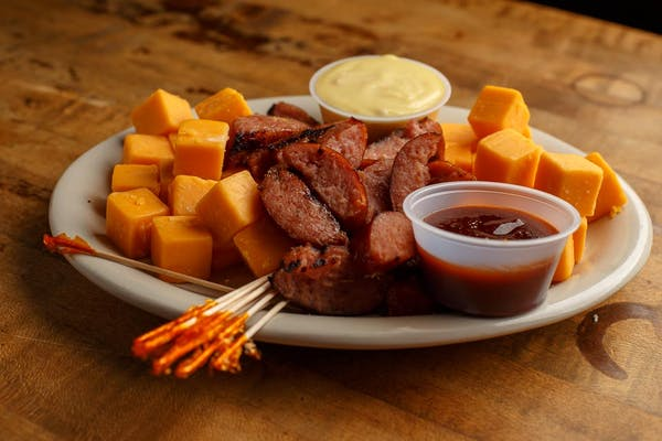 Sausage & Cheese Plate
