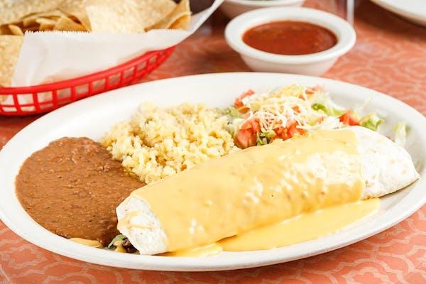 Guadalajara Burrito Dinner
