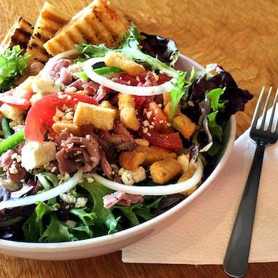 Blue Moo Flank Steak Salad