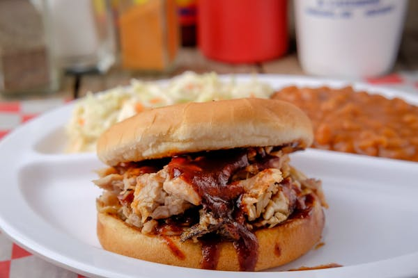 Bar-B-Que Pulled Pork Sandwich