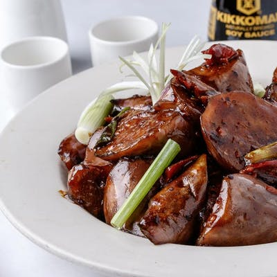 BBQ Pork & Eggplant