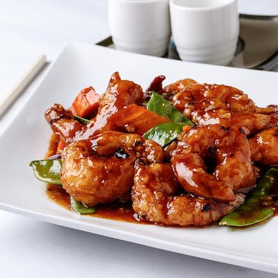 General Tso's Shrimp (Spicy)