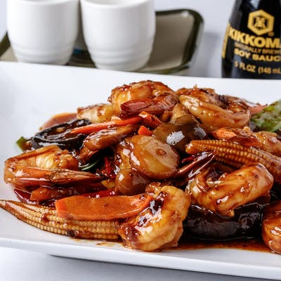 Hunan Shrimp (Spicy)