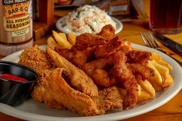 Catfish & Shrimp Combo
