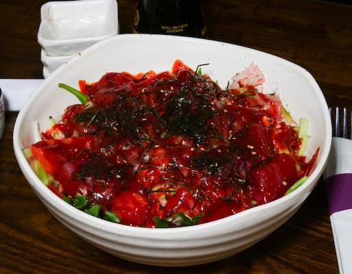 Spicy Seafood Salad (Hwe-Mu-Chim)
