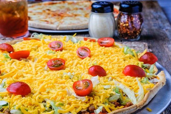 (1) Taco Pizza