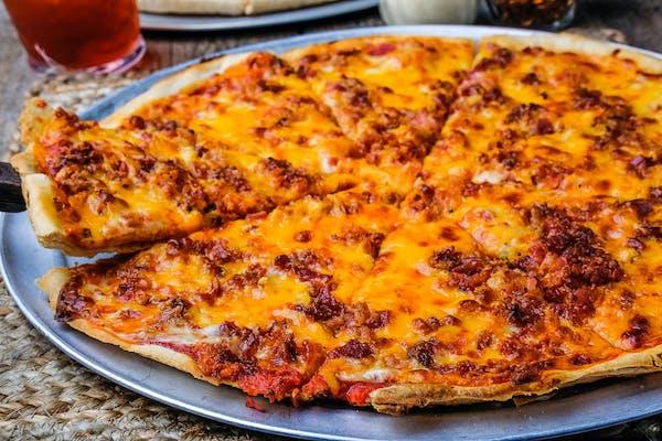 (1) Bacon & Cheddar Pizza