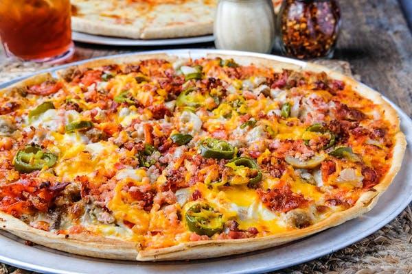 (1) Kyu's  Special Pizza