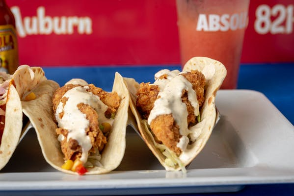 Southern Fried Chicken Taco