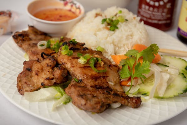 C2 Grilled Chicken Rice Plate