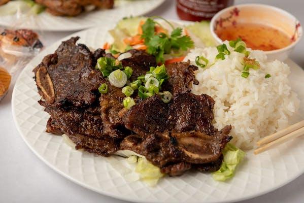 C6 BBQ Short Ribs Rice Plate