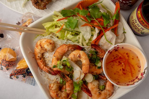 B6 Grilled Shrimp Vermicelli