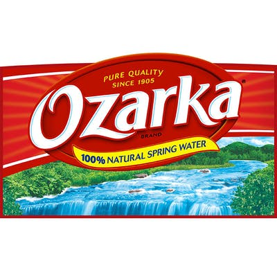Bottled Ozarka Water