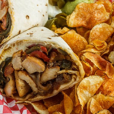 Grilled Chicken Fajita Wrap