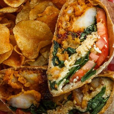 Zydeco Shrimp Wrap