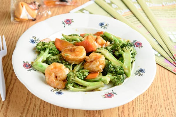 63. Shrimp with Broccoli