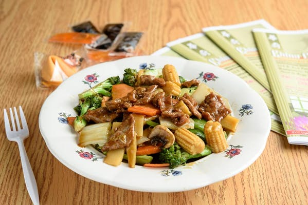74. Beef with Chinese Vegetables