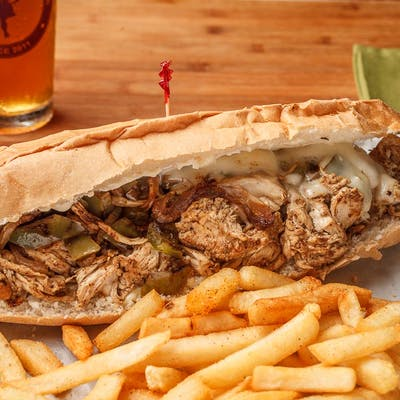 Chicken Philly Poboy