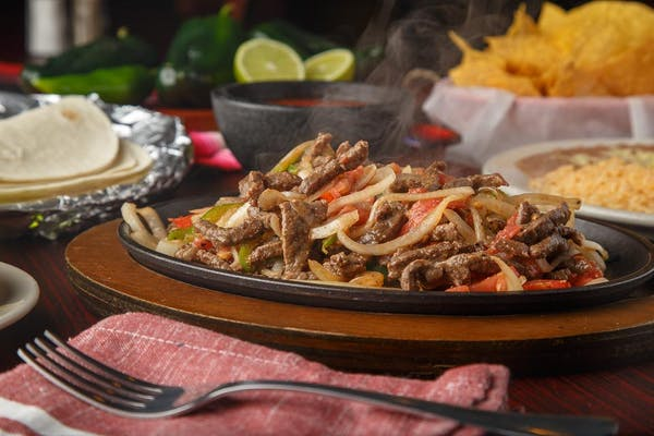 33. Steak Fajitas