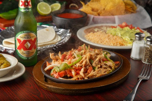 34. Chicken Fajitas