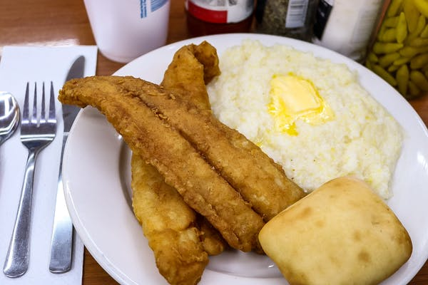 Friday Fish & Grits