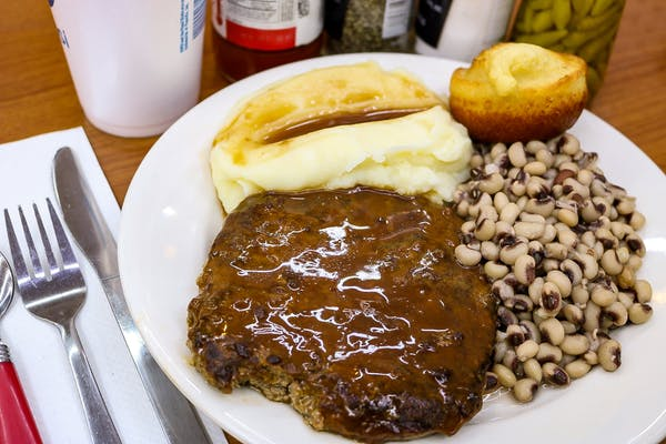 Thursday Hamburger Steak