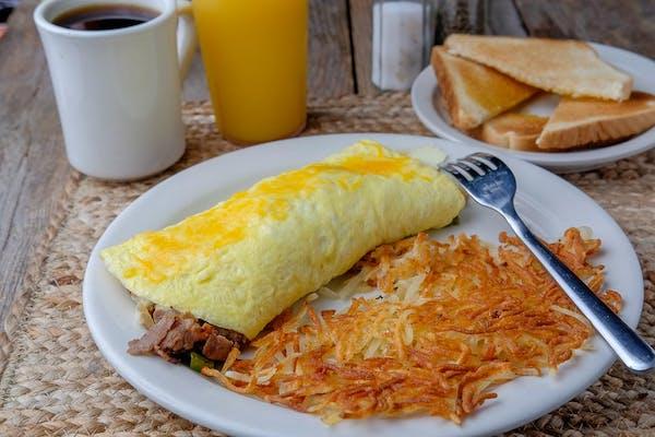 Philly Steak Omelette