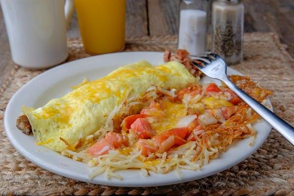 Razorback Omelette