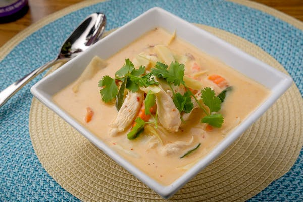 Coconut Soup (Tom Kha)