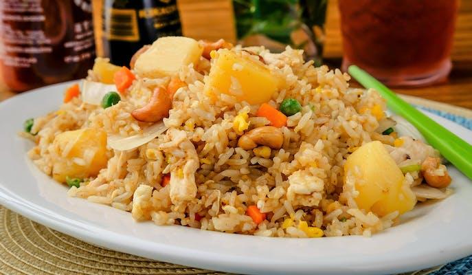 Pineapple Fried Rice (Khao Pad Sapparod)