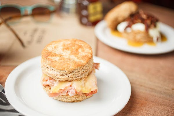 Ham & Cheese Biscuit