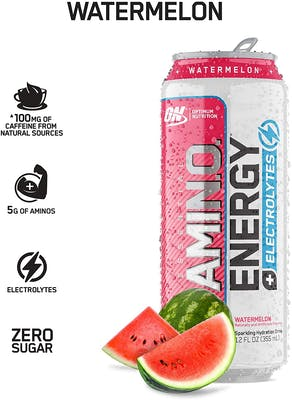 Amino Energy Carbonated