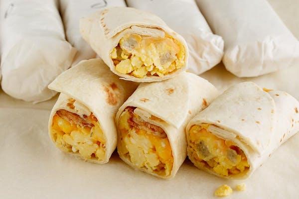 Sausage, Egg & Cheese Taco