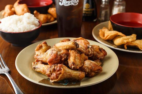 Lemon Pepper Chicken Wing