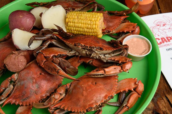 5. Boiled Crabs