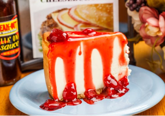 Plain New York-Style Cheesecake